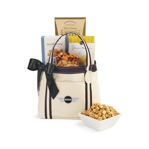 Piccolo Grab N' Gourmet Treats Tote - Natural-Black